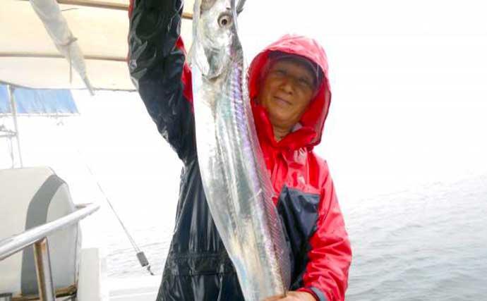 【大分・熊本】沖釣り最新釣果 ケンサキイカやジャンボイサキが好調