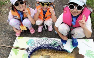 子供と一緒に『川遊び』に行こう 「ドジョウすくい」&「パンコイ」満喫