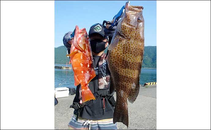 【愛知・三重】沖のルアーフィッシング最新釣果 タイラバで良型マダイ