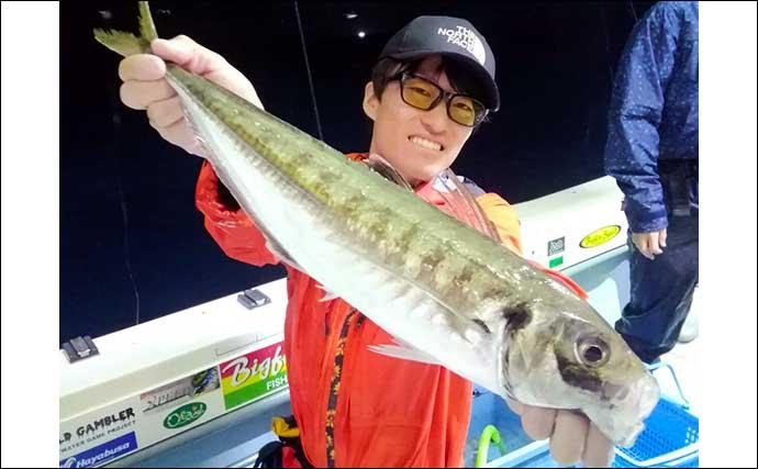 バチコン・SLJ・イカメタルのリレー釣行 51cm『テラアジ』浮上【福井】