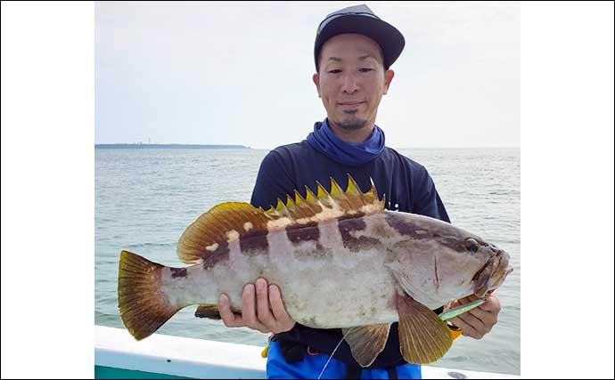 【福井・静岡】沖釣り最新釣果 タイラバで25kg超『モンスターカンパチ』
