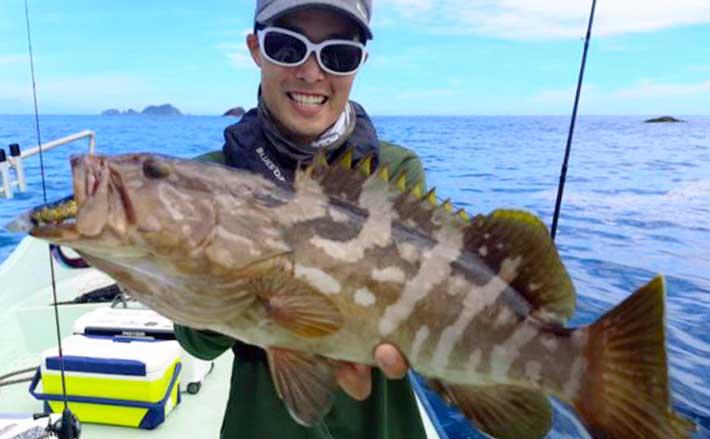 【三重】沖釣り最新釣果 人気のハタ狙い『スイミングゲーム』が好調