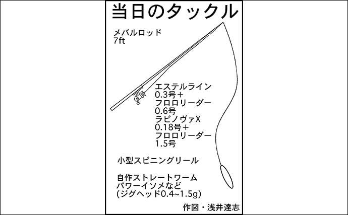波止アジングで25cm本命手中 45cm級セイゴも【三重・紀伊長島】