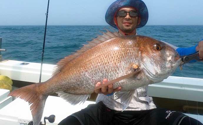 【愛知・静岡】沖のルアー釣り最新釣果 2m超え『バショウカジキ』出現