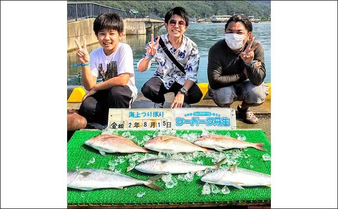 【三重・福井】海上釣り堀最新釣果 カンパチにワラサなど青物絶好調