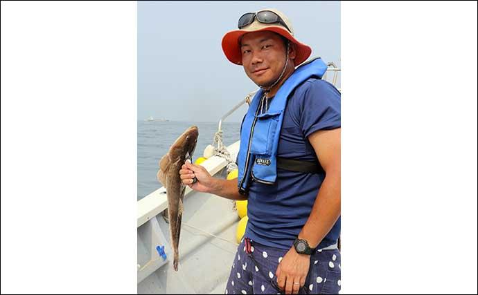 伊勢湾ジギングで『大ハマチ』 好ゲストは良型ヒラメ【愛知・祐英丸】