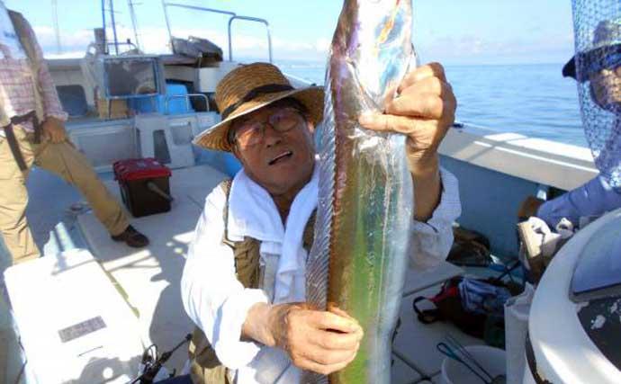 【熊本・大分】沖釣り最新釣果情報 夜焚きイカ3ケタキープで好調続く