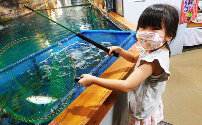 娘との釣りデートには釣堀レストラン&室内釣堀活用がオススメ【埼玉】