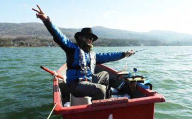 自作グッズでワカサギ釣りを楽しもう:手返し向上に必須の『釣台』作成