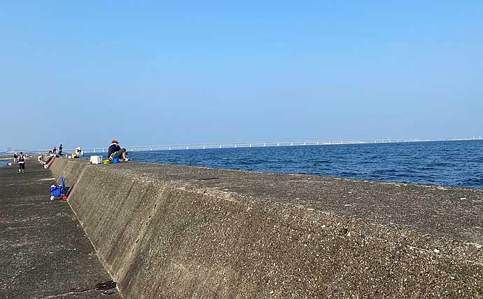 大阪湾『波止タチウオ』好機到来 メタルジグで攻略【泉佐野一文字】