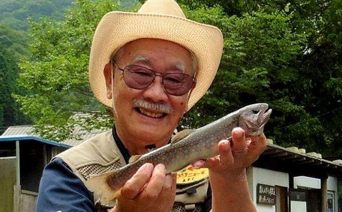 管理釣り場のフライフィッシングで40尾キャッチ【大阪・千早川】