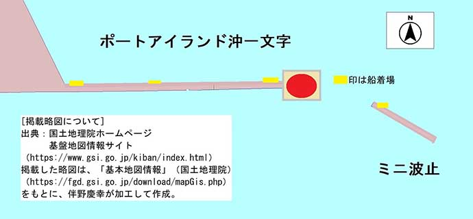 ポートアイランド沖一文字で40cm級大サバ&46cmチヌ御用【兵庫】