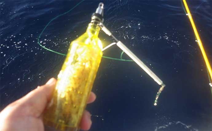 大物釣りのメッカ『銭洲』遠征 船中30kg級カンパチ浮上【静岡・舵丸】
