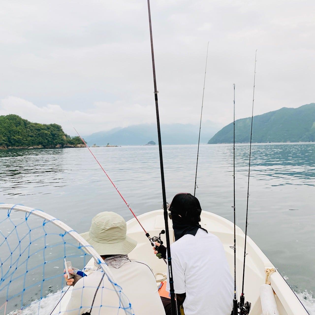 尾鷲湾ボートルアーフィッシングで50cmマダイ【三重・エヌテックマリン】