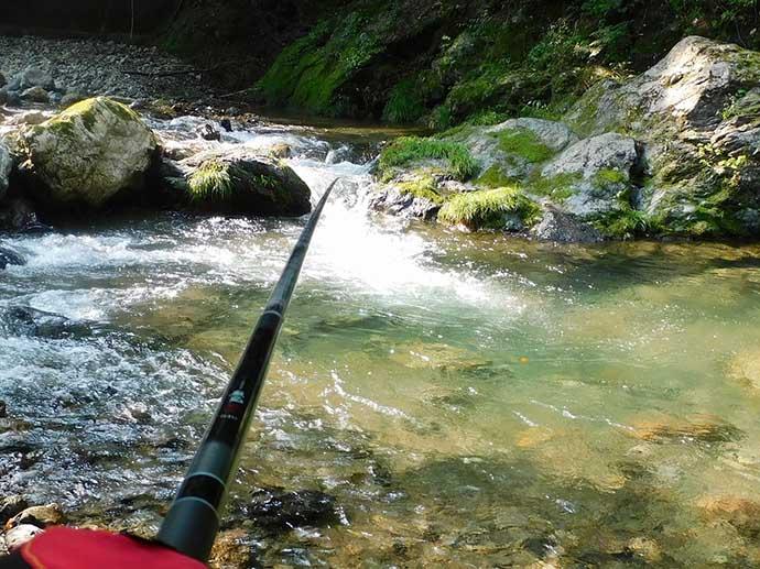 大人が楽しむ釣り&昆虫採集 ヤマメとミヤマクワガタ手中【横瀬川】