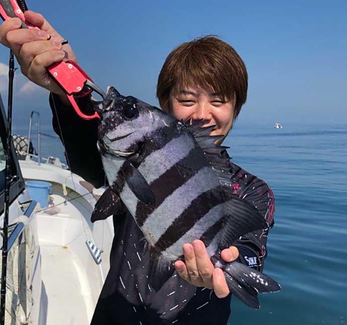 ボート『テンヤ釣り』で低活性を攻略 仕掛け使い分けがキモ?【宮崎】