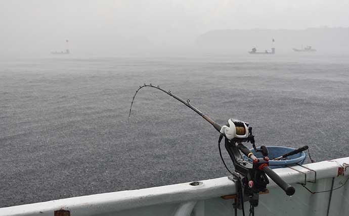 ブリ狙いテンビン釣りが開幕 良型手中の好機【和歌山・フィッシング隼】