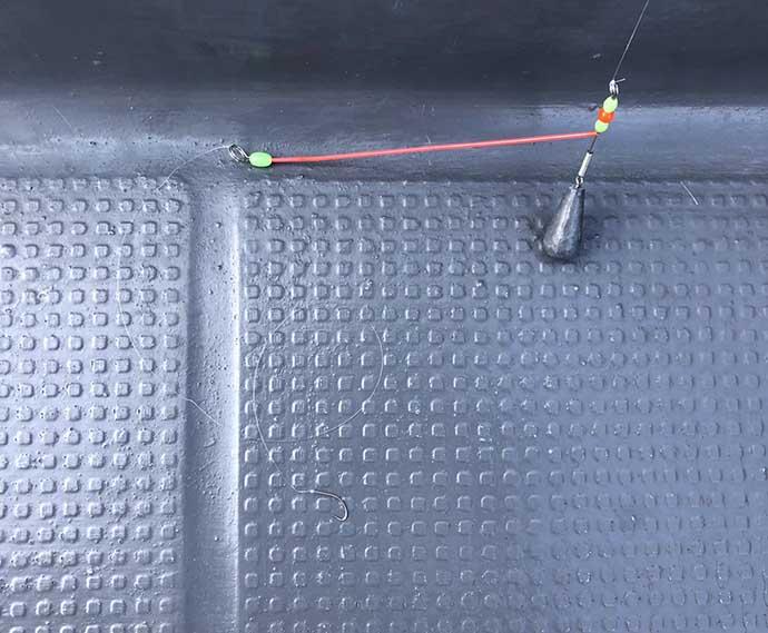 ボートキス釣りで20cm頭に30匹 食い渋りにドテラ流しが効く?【愛知】