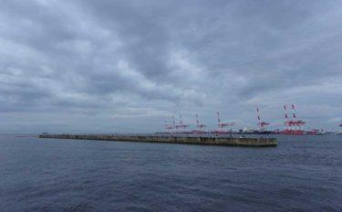 大阪湾の沖堤防を徹底解剖:神戸第8防波堤 サビキ釣りで中アジ好釣