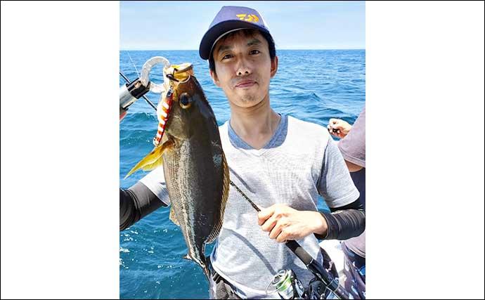 【大分・熊本】沖釣り最新釣果情報 夜焚きイカ&イサキ狙いが好調