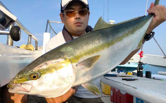 【愛知 】沖釣り最新釣果 91cm頭に各地で『メタボブリ』連発