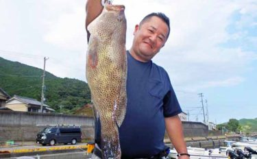 【静岡・三重】沖のルアーフィッシング最新釣果 大型ハタ類が好調