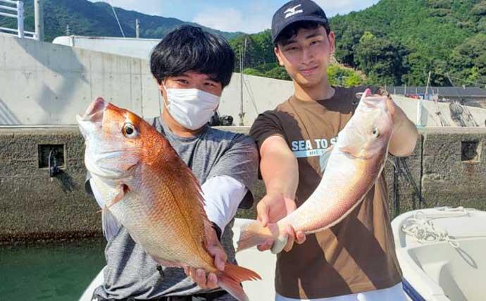 【三重】沖釣り最新釣果 ジギングで20kg超え『メバチマグロ』堂々浮上