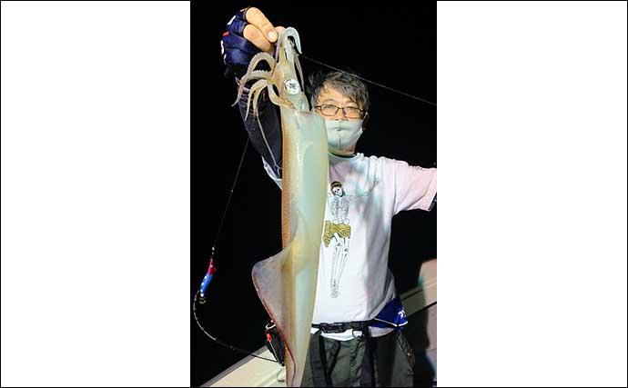 【静岡・福井】沖釣り最新釣果 ジギングで大型マハタにイカメタル好調