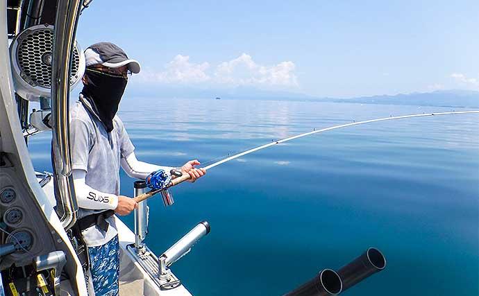 琵琶湖固有種『ビワマス』が絶好調 50cm級頭に本命40匹超【琵琶湖】