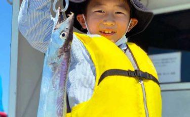 【大分・熊本】沖釣り最新釣果 指7本級頭にドラゴンタチウオ連日浮上