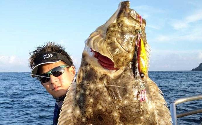 【福岡・響灘】沖釣り最新釣果 『落とし込み』秋の本格シーズン到来