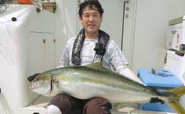 オフショアキャスティングで22kg大型ヒラマサ浮上【福岡・オクトパス】