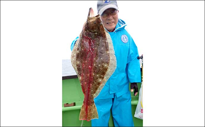 外房ヒラメ釣りで3.1kg 好ゲストにマハタやイナダ【千葉・増栄丸】