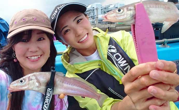 仕立船で和気あいあいキス釣り 20cm級含み船中トップ40尾【東京湾】
