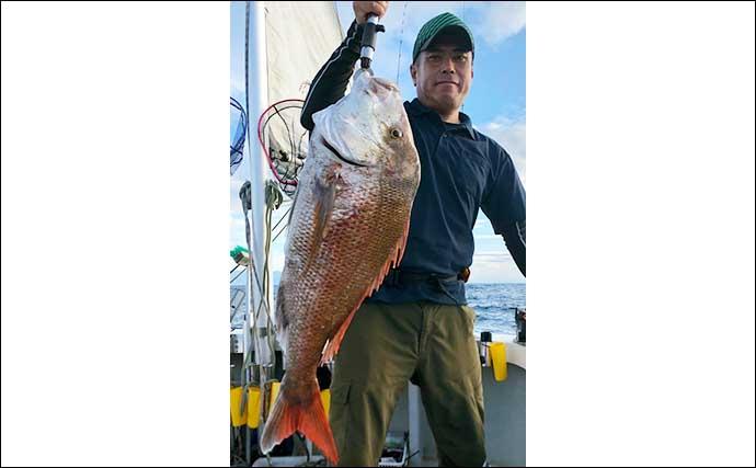 【静岡・福井】沖のルアー釣り最新釣果 ジギングで良型『クエ』浮上