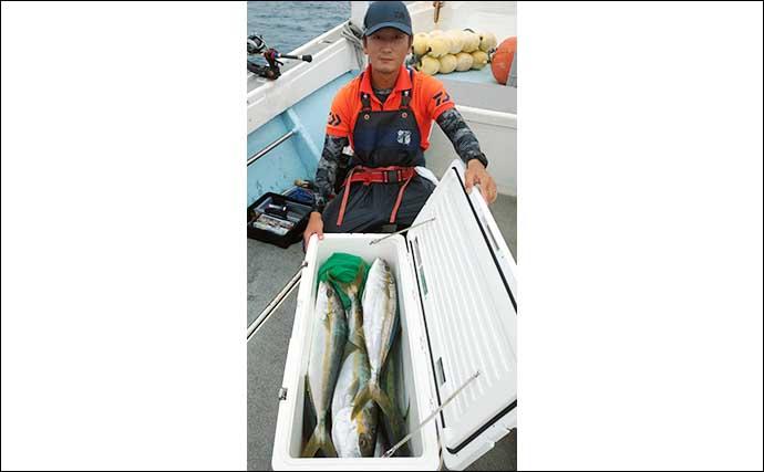 【福岡】落とし込み釣り最新釣果 秋のシーズン到来でヒラマサ多数浮上