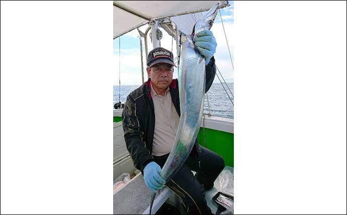【熊本・大分】沖釣り最新釣果 『ドラゴン級』含み良型タチウオ続々