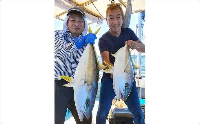 【福岡】エサでの船釣り最新釣果 ひとつテンヤで3kg『イシダイ』浮上