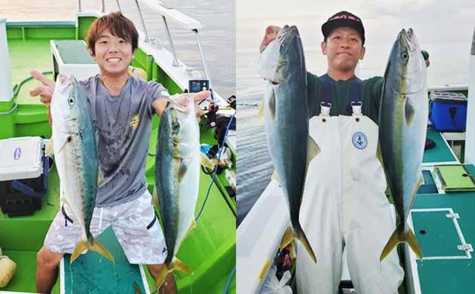 週末ナニ釣れた?沖釣り速報:ワラサにイナダにブリ族回遊中【関東】