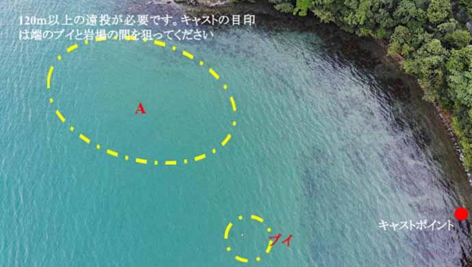 ドローン活用した投げキス釣りで26.5cm大型本命【福井・岡津海岸】
