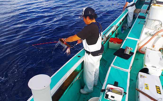 キンメの聖地「新島沖」深海釣り マイバッテリー有無が重要なワケとは?