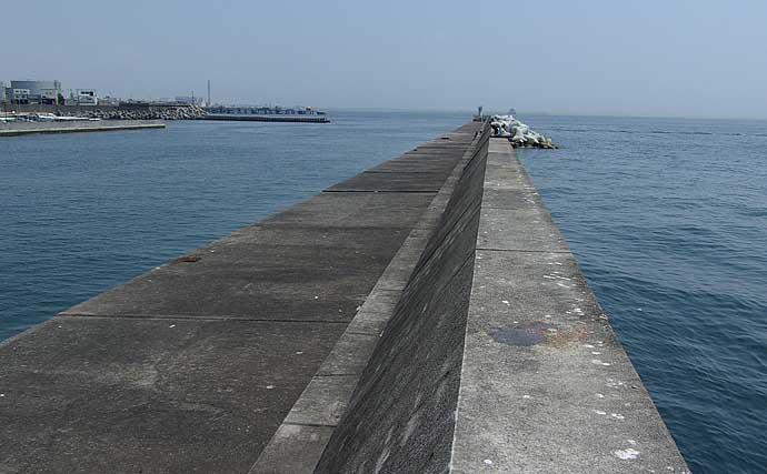 大阪湾の沖波止紹介:須磨・垂水エリア3つの沖堤 魚影の濃さは抜群