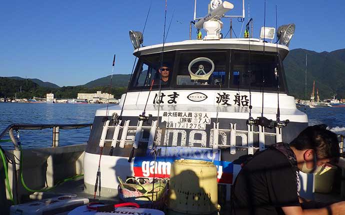 夜釣りでケンサキイカ36匹 本格シーズンに突入【愛媛・はま渡船】