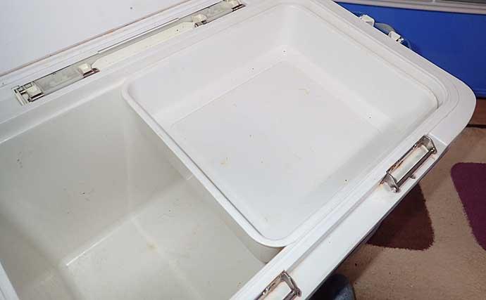 クーラーボックスの保冷力解説 「壁の中の素材」と「サイズ」で決まる?