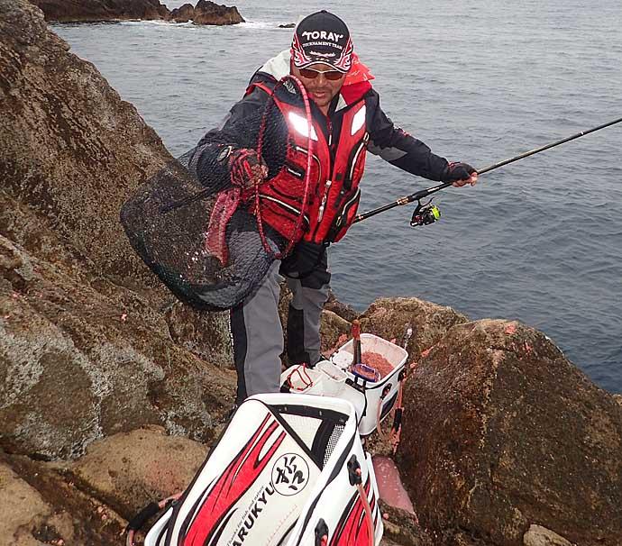 旬の釣魚を美味しく食べよう 秋磯の『グレ』を新鮮に持ち帰る方法