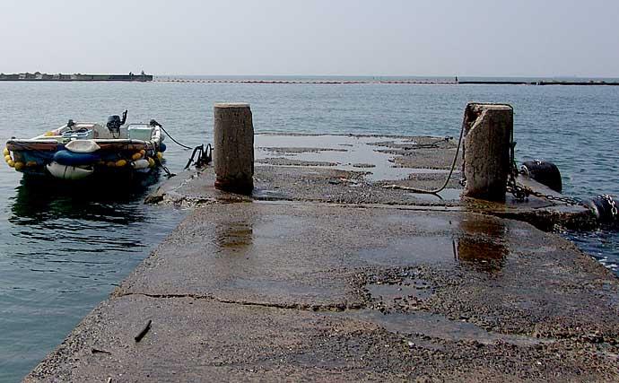沖堤防での投げ釣りで五目釣果 海水浴場閉鎖で穴場に?【須磨浦一文字】