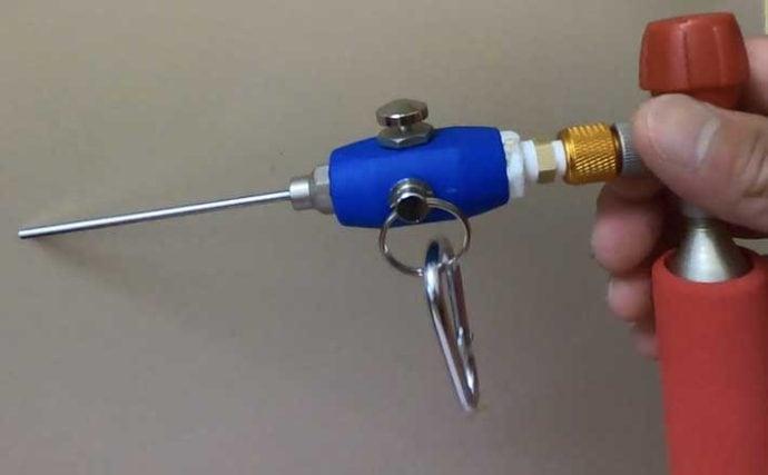 空気で神経締めを行う『エアシューター』自作方法 釣り場でも使用可能