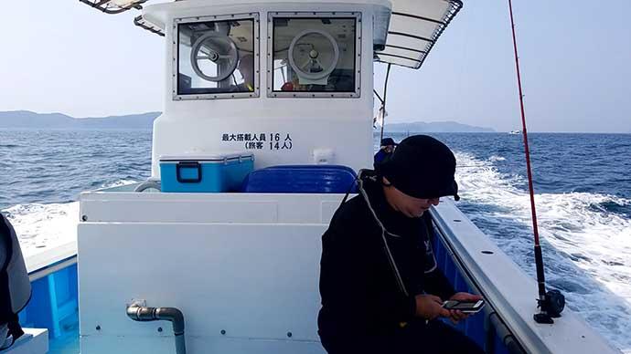 大阪湾テンヤタチウオが好発進 メーター級頭に13匹手中【春日丸】