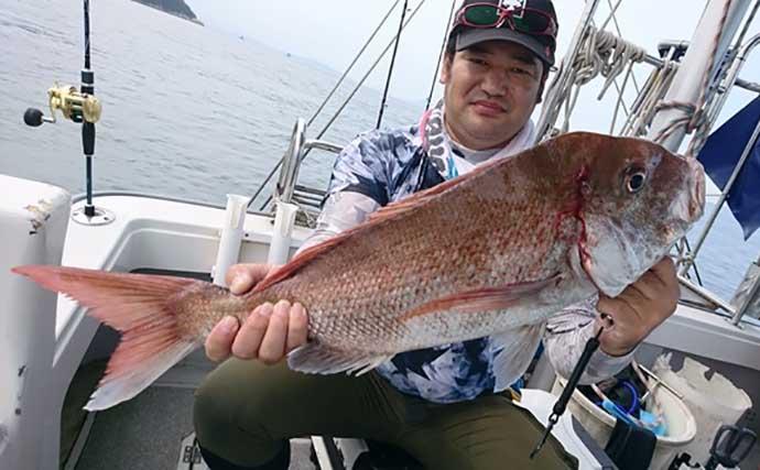 【しまなみ海域2020】現役船長が解説する秋のマダイ釣り 荒食い期到来