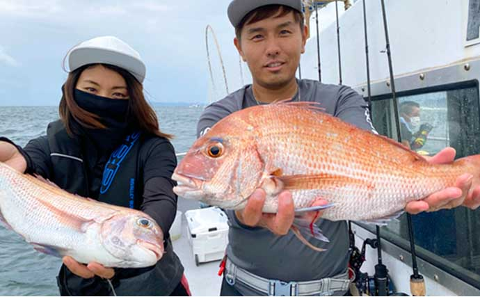 【愛知】沖釣り最新釣果 秋のマダイ数釣りシーズン到来で2ケタ釣果